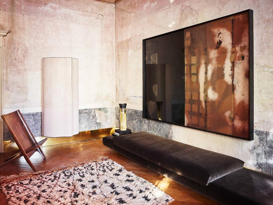 Vincenzo De Cotiis's Home in Milan | Photo by Paul Lepreux
