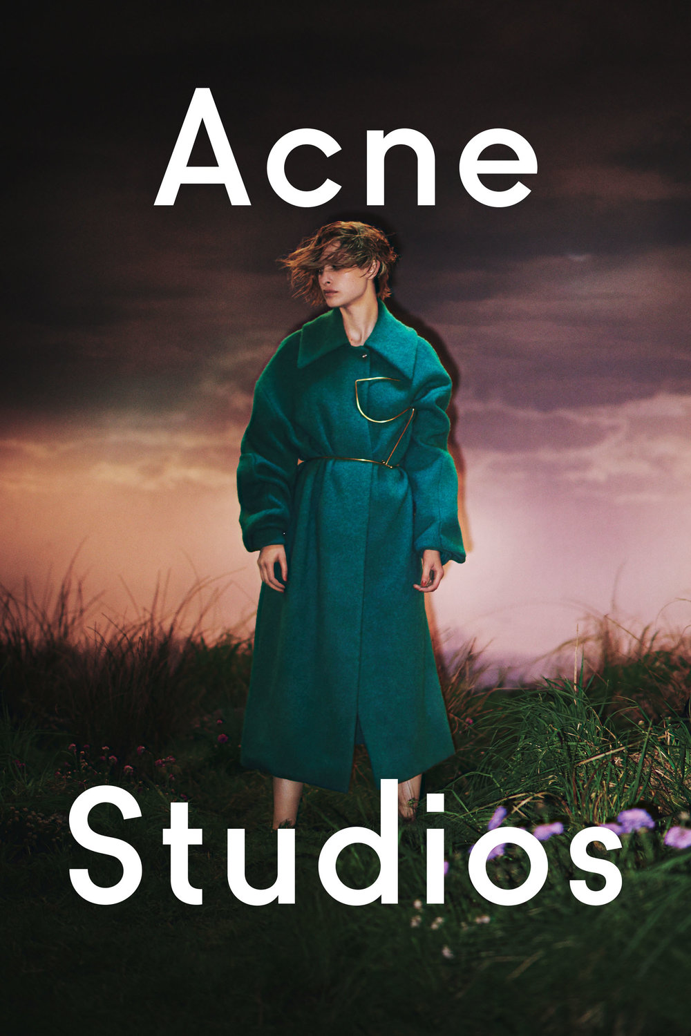 David Sims On a Classical Fashion Campaign for Acne Studios - Anniversary Magazine