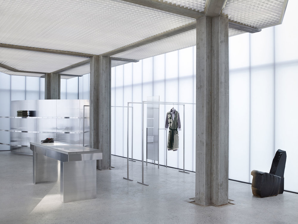 Acne Studios Flagship Store in Seoul by architect Sophie Hicks