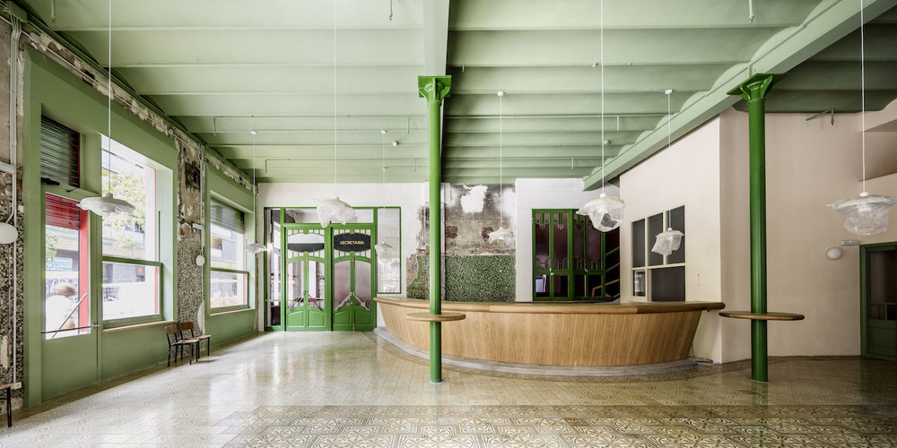 FLORES PRAT ARCHITECTS SALA BECKETT