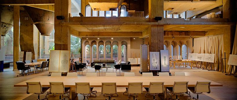 Ricardo Bofill's Fabrica Renovation Project