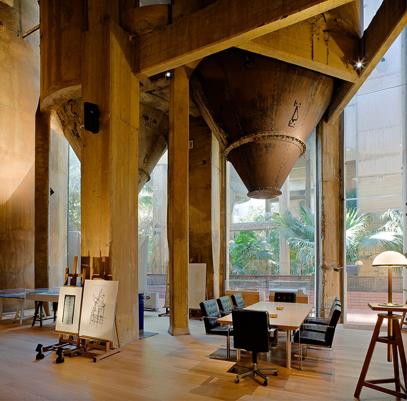 Ricardo Bofill's Fabrica Renovation Project