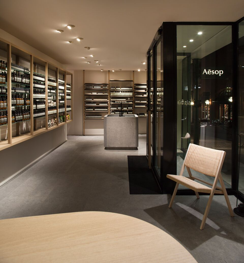 Aesop Hamburg Store by PSLAB