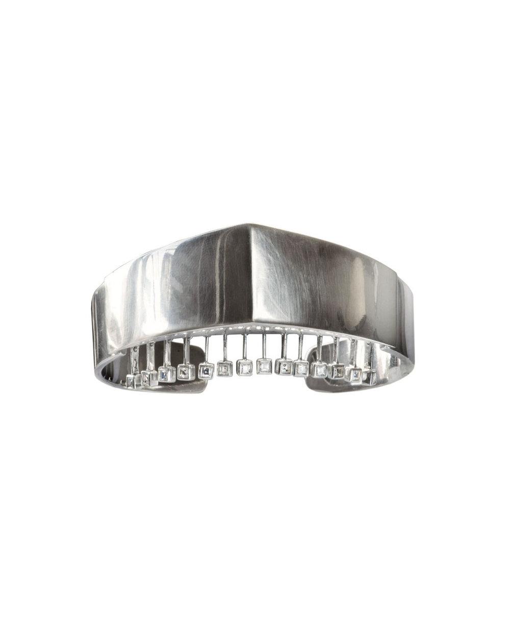 Erie Basin -  Silver Veil Bracelet
