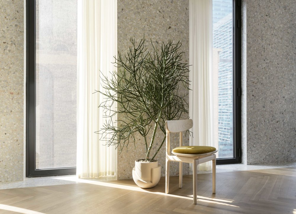 Radnor Presents Material Interiors on Anniversary Magazine