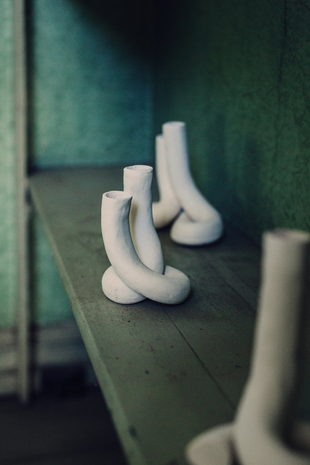 Dressed in Clay — Candle Holder — by Kajsa Willner