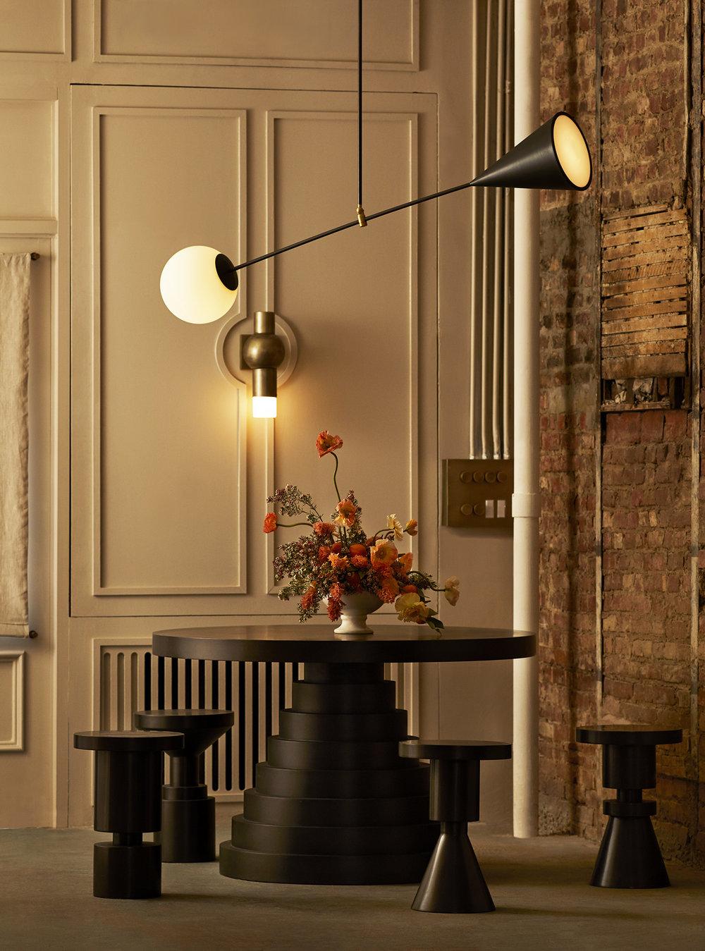 A Matter of Balance : Anna Karlin's Design Showroom in New York City on Anniversary Magazine