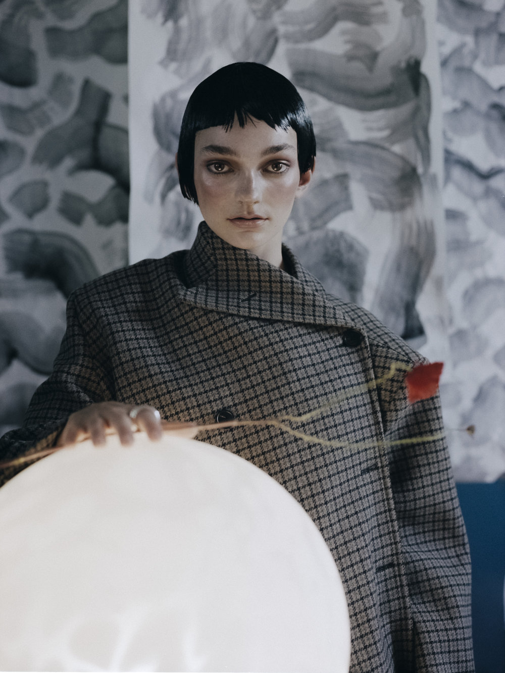 Coat - Balenciaga,Jewelry -Anita Sikma