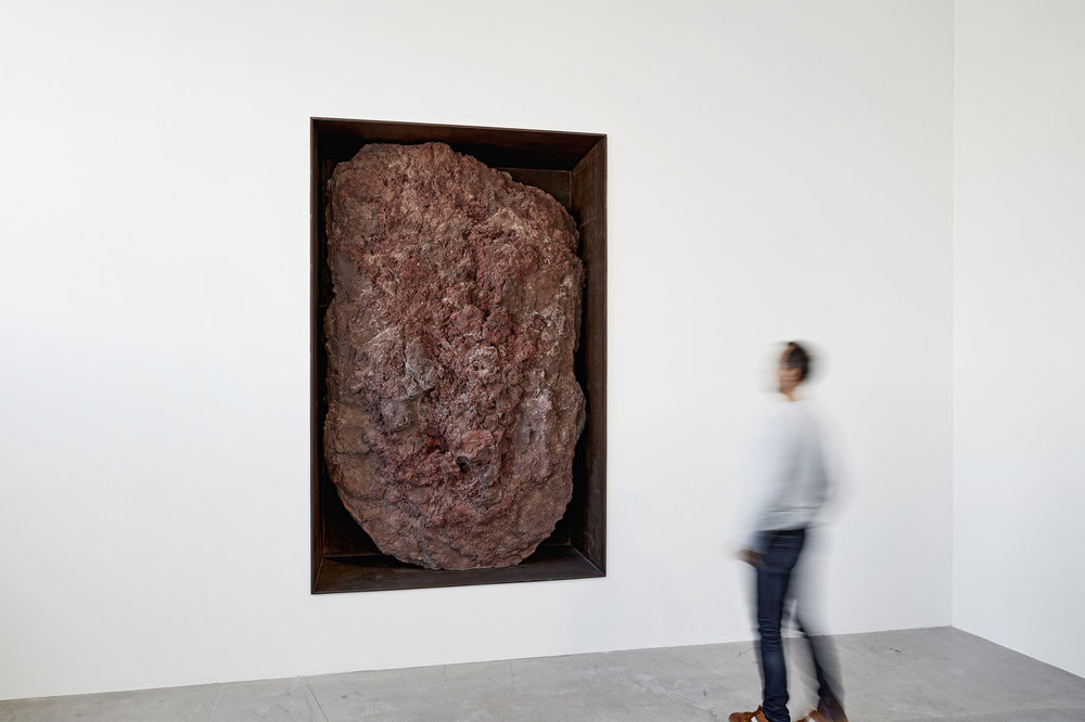 Michael Heizer at Gagosian Gallery, Le Bourget on Anniversary Magazine