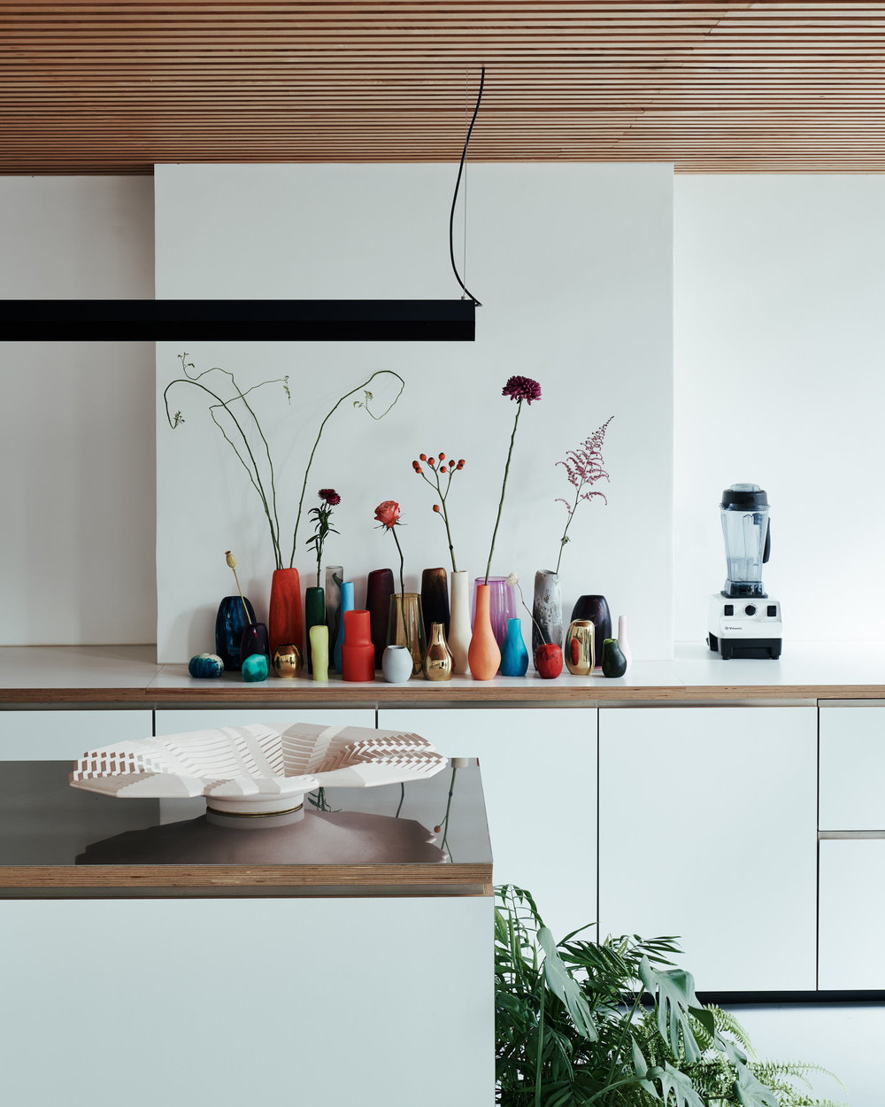 The Vibrancy of Eclectic Design: Blue House Curated by Morgwn Rimel and House of Grey on Anniversary Magazine