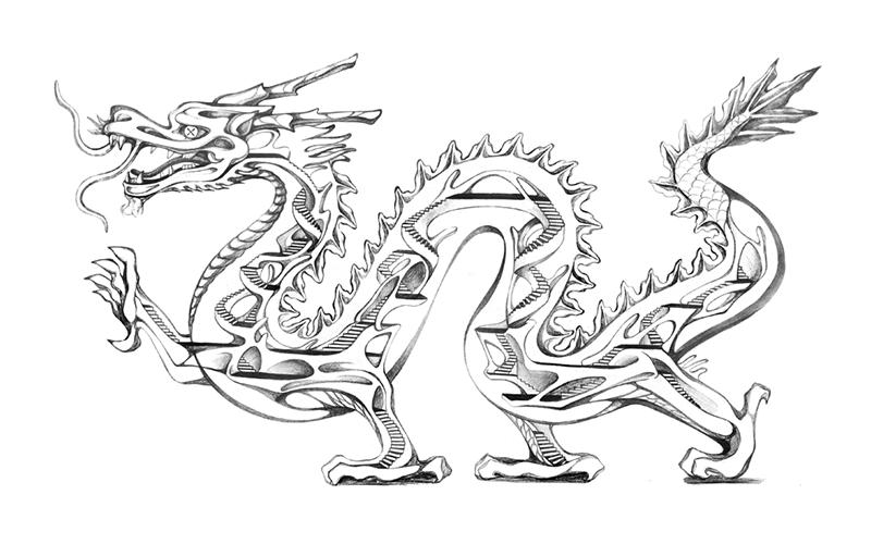 Dragon , Minglu Zheng 2014