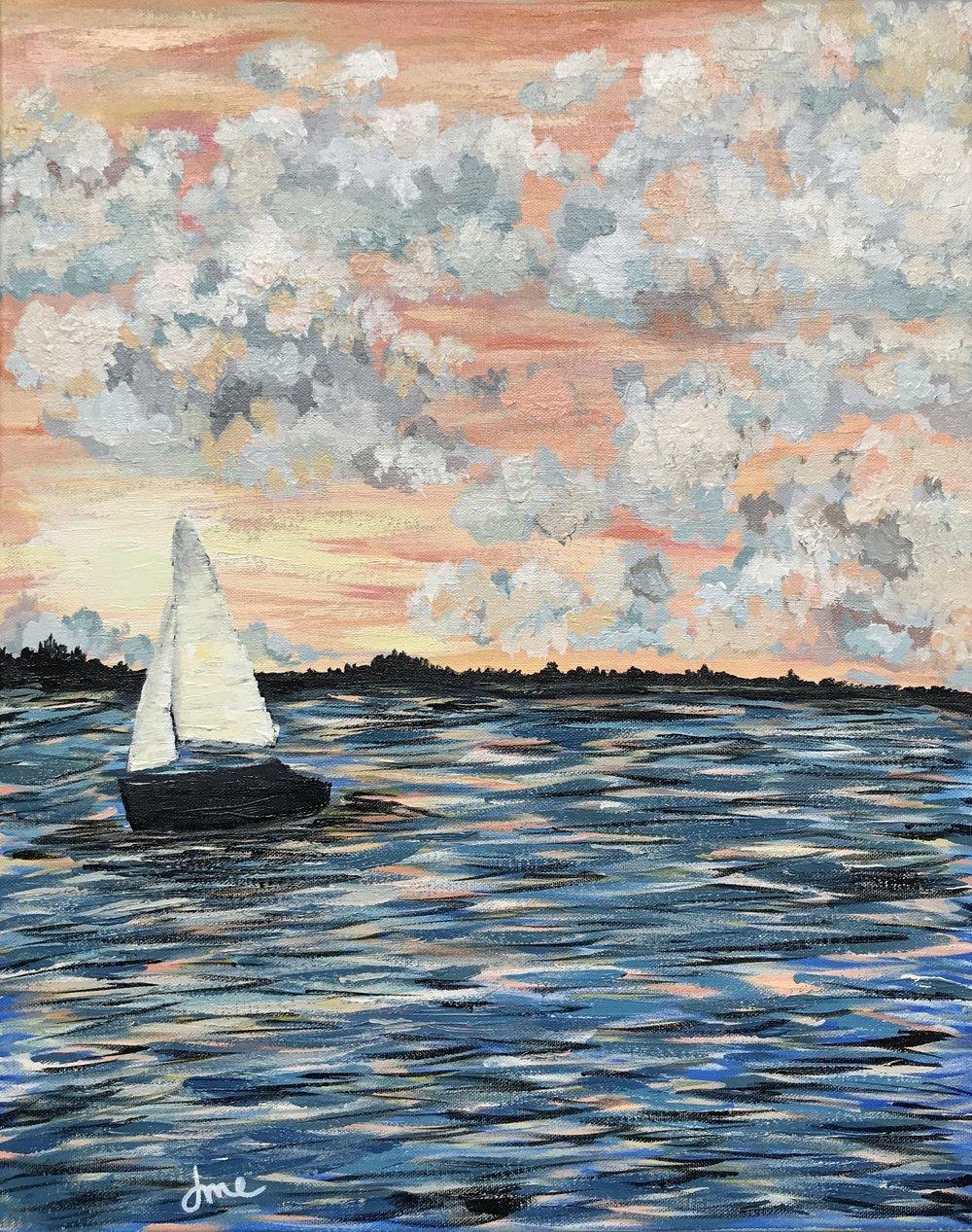Set sail at sunset - 16