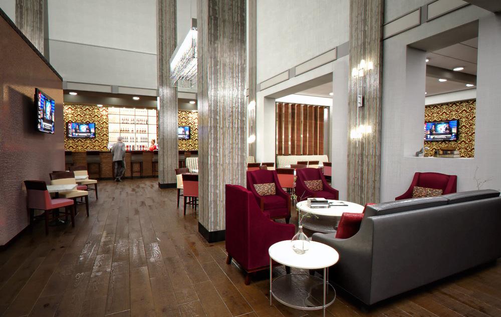 Hilton Hotel Lobby Remodel