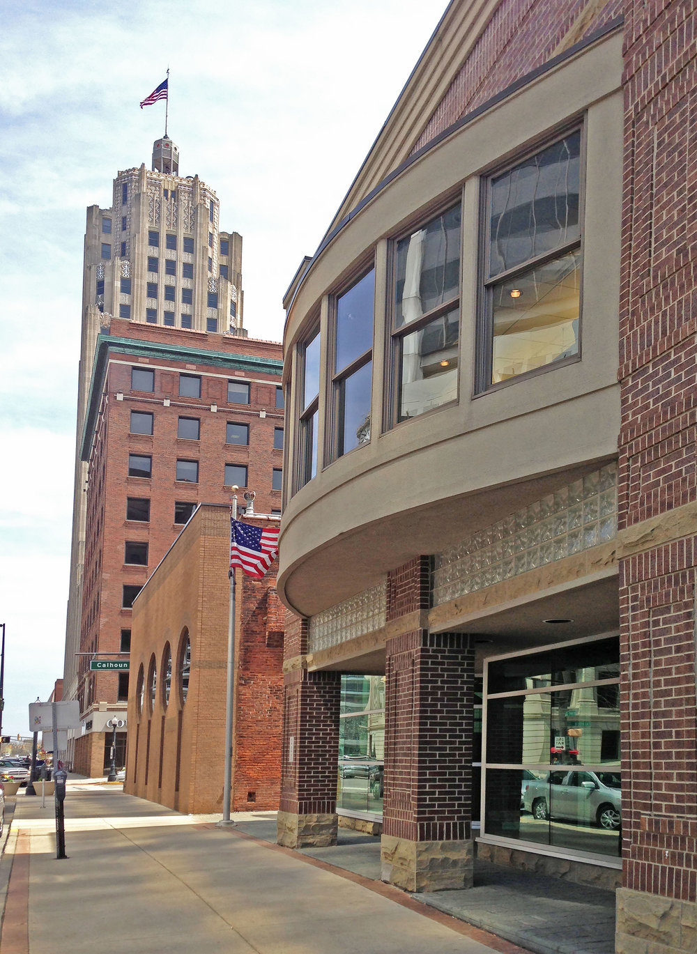 Hoch Office Located in the Heart of Downtown Fort Wayne, Indiana