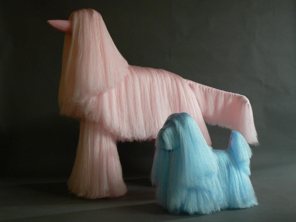 Afghan Dog Mannequins