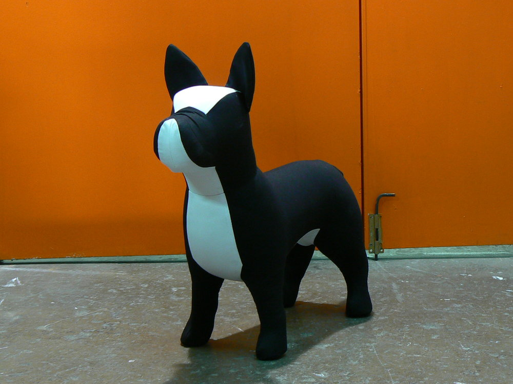 French Bulldog Dog Mannequin