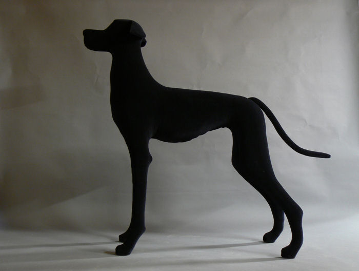 Great Dane Dog Mannequin