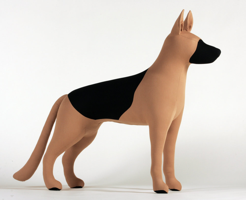 German Shepherd Dog Mannequin