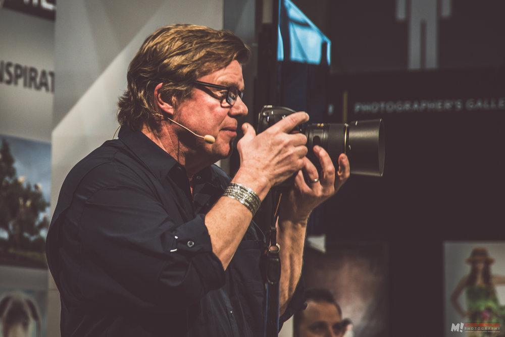 Joe McNally @ Nikon Education Theatre PhotoExpo+ 2016