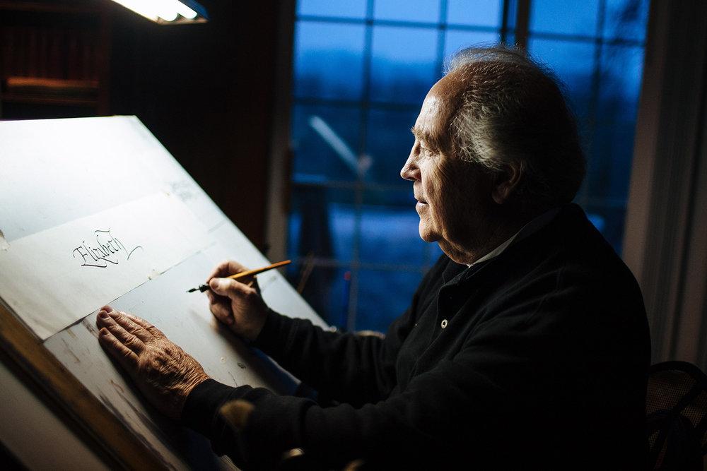 ROBERT PALLADINO  calligrapher