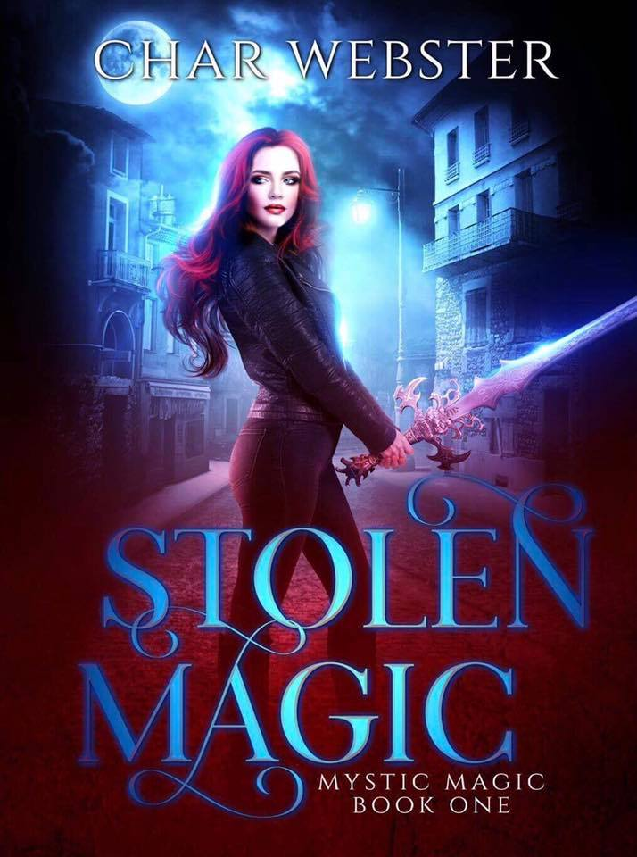 STOLEN MAGIC   Char Webster      Mystics Aria and Damian have hated each other for centuries.  Now, they are forced to work together to capture a killer who is threatening the entire supernatural world.