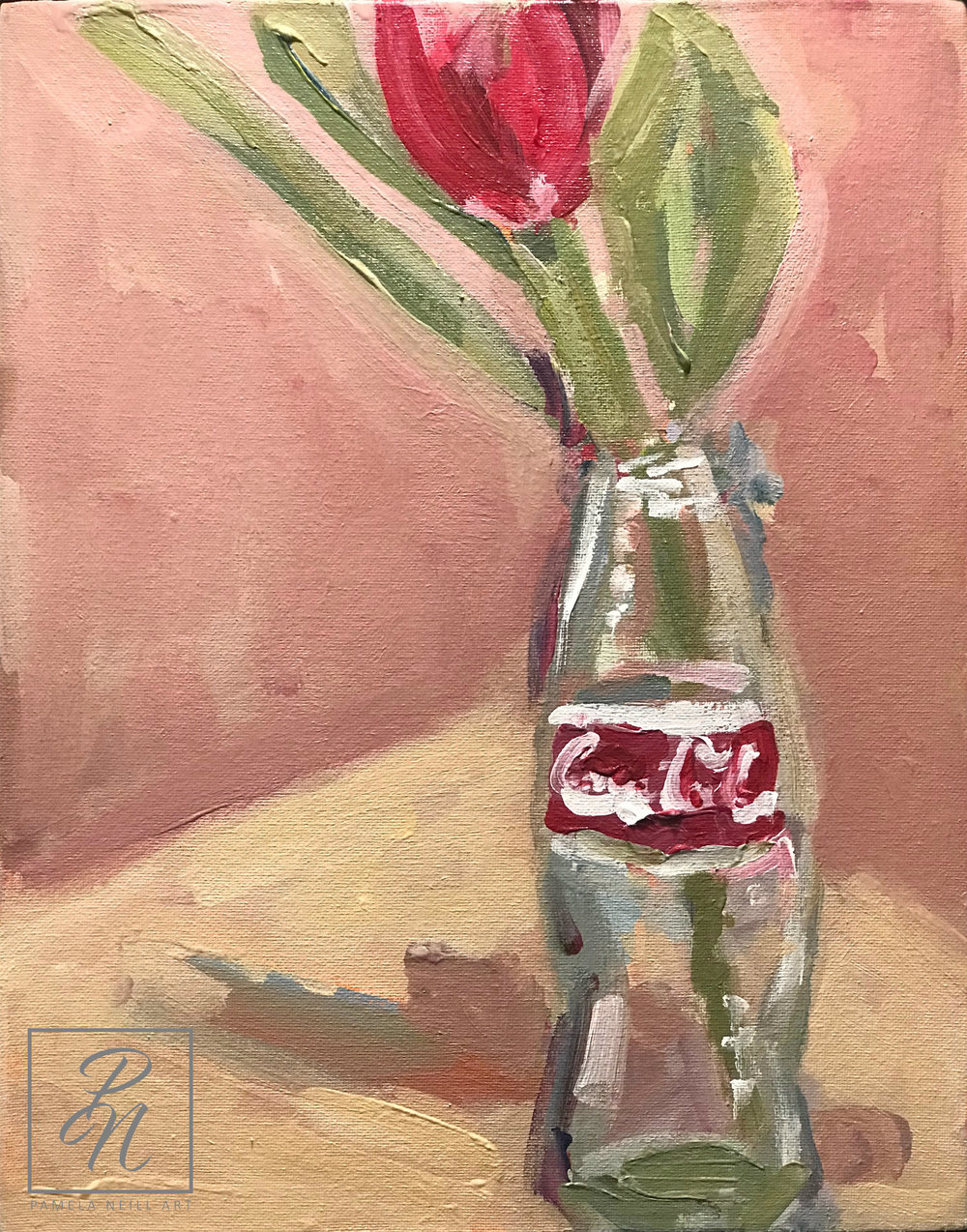 Tulip and a Coke