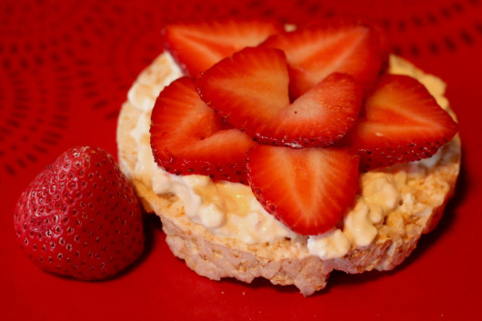 Strawberry Sunshine:    Strawberries +cottage cheese = BFFL. That's all it is, simple as it looks. Filling and perfect for your taste buds.