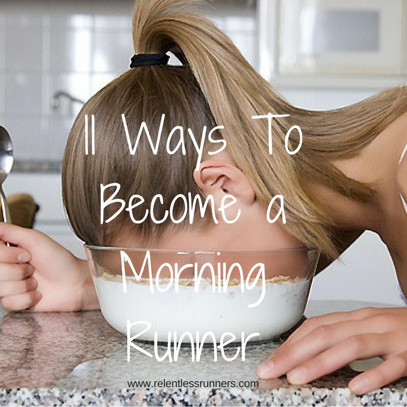 morning runner, 5am club, run in the morning,  relentless runners, run coach, coaching