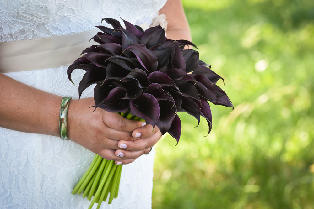 Central Illinois Backyard Wedding Bridal Bouquet