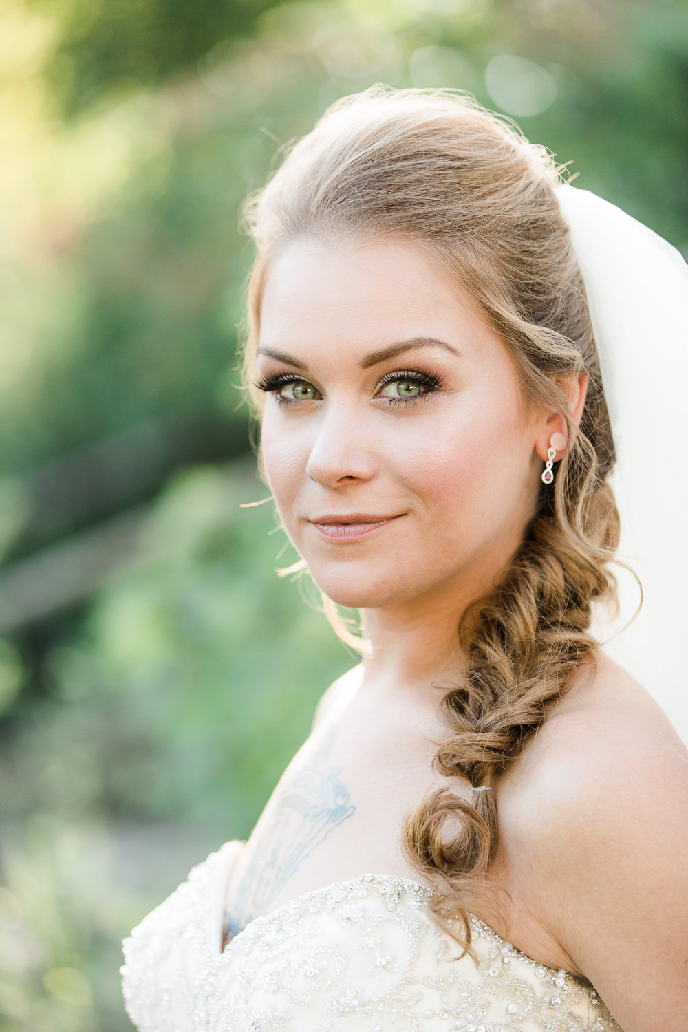 Something You Salon and Spa Wedding Makeup and Hair Champaign Illinois