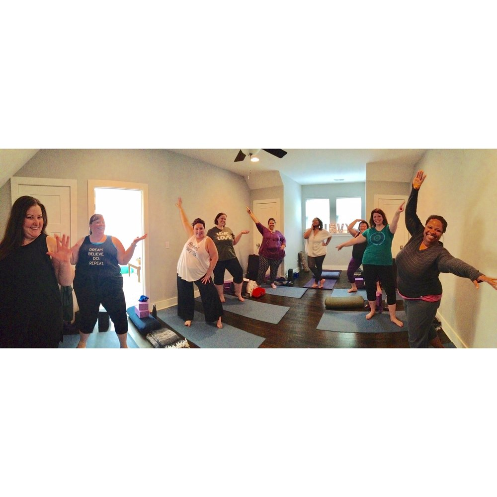 Private Group/Events - Blend Body Positive Hatha Yoga with free flowing dance and good vibes and you have a yoga session that is pure fun and eclectic. To learn more and discuss a possible collaboration with me and your group, be sure to click the link below. I can't wait to help assist your team.