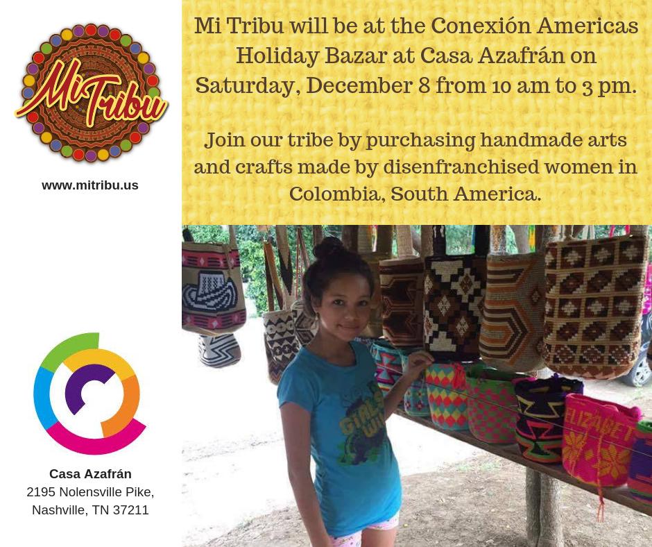 Conexion Americas Holiday Bazar