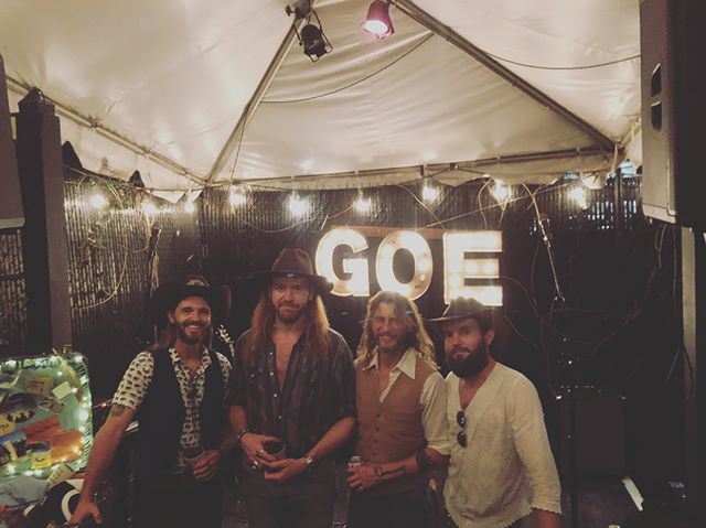 Hot damn, yesterday was one of those real good times!!! Thanks @grandoleecho @benreddell @coolhairlive @patang_baine @raybowen for a great day of music and good times!!!