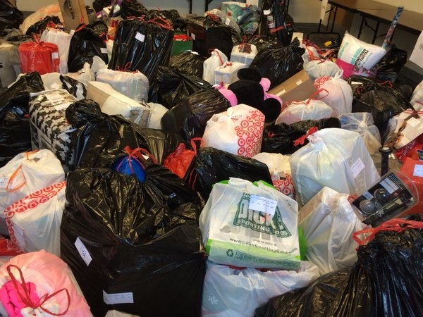 Thousands of Gifts Donated