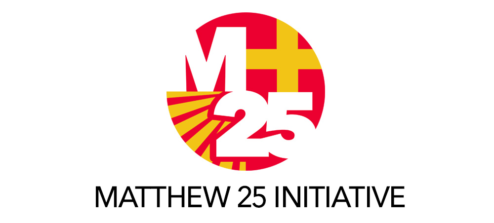 The Whitefield Center is a proud beneficiary of the Matthew 25 Initiative.