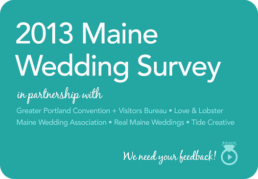 2013 Maine Wedding Survey