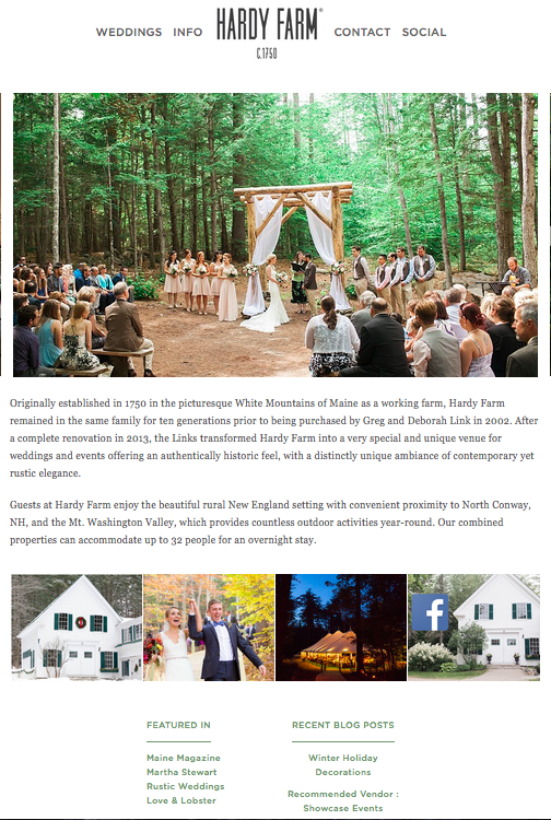 marketing a wedding venue