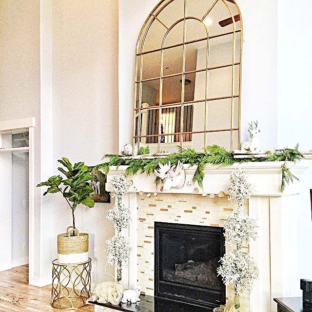 Beautiful Decorating Your Mantel Ideas - Interior Design Ideas ...