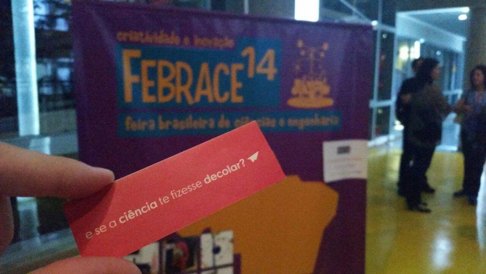 Os mentorados do Cientista Beta participam das maiores feiras de ciências do Brasil, como a Febrace