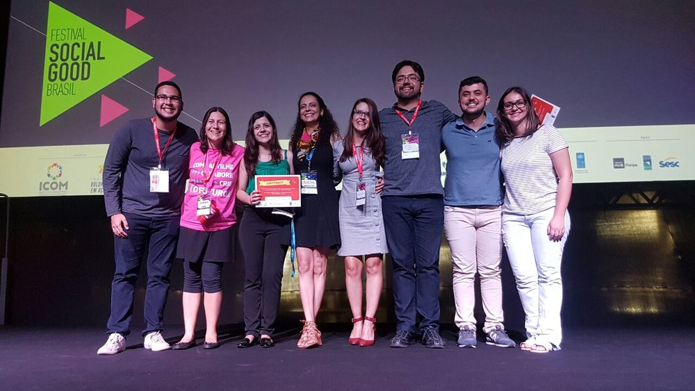 m menos de 2 anos, o Cientista Beta já recebeu alguns reconhecimentos como o 2º Lugar no Social Good Lab² e o apoio da SciBr Foundation em parceria com a Fundação Lemann.