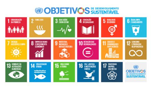 Figura 1: Objetivos do Desenvolvimento Sustentável