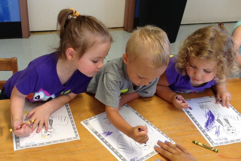Copy of Preschoolers in Whittler Treehouse
