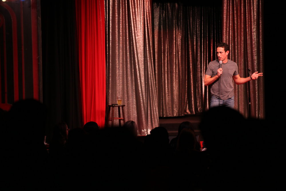 Brian Moreno at the Comedy Store