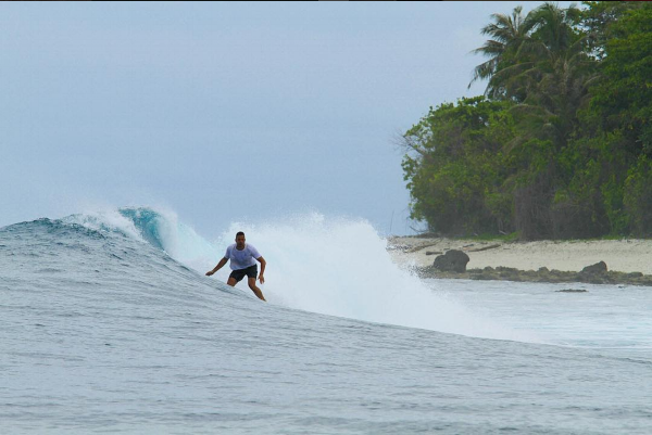Marin Lazic sufing in Mentawais - September 2016