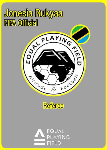 Referee Jonesia, Tanzania