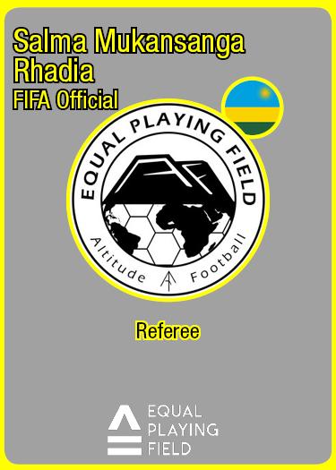 Referee Salma, Rwanda