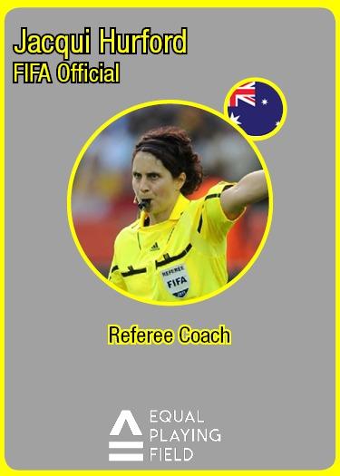 Referees Coach Jacqui, Australia