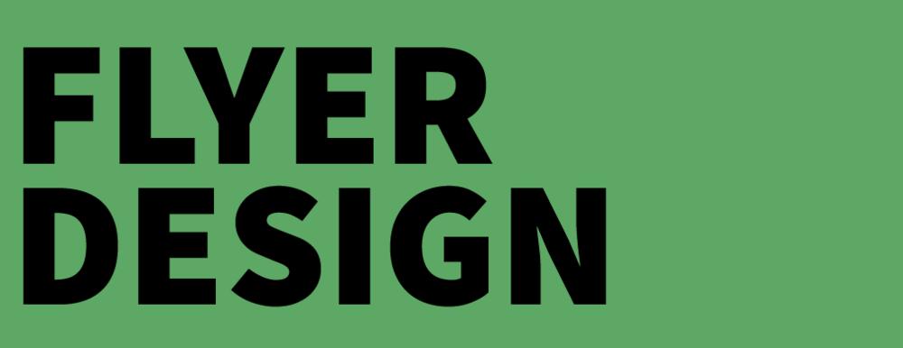 Graphic Design Townsville - Flyer Design