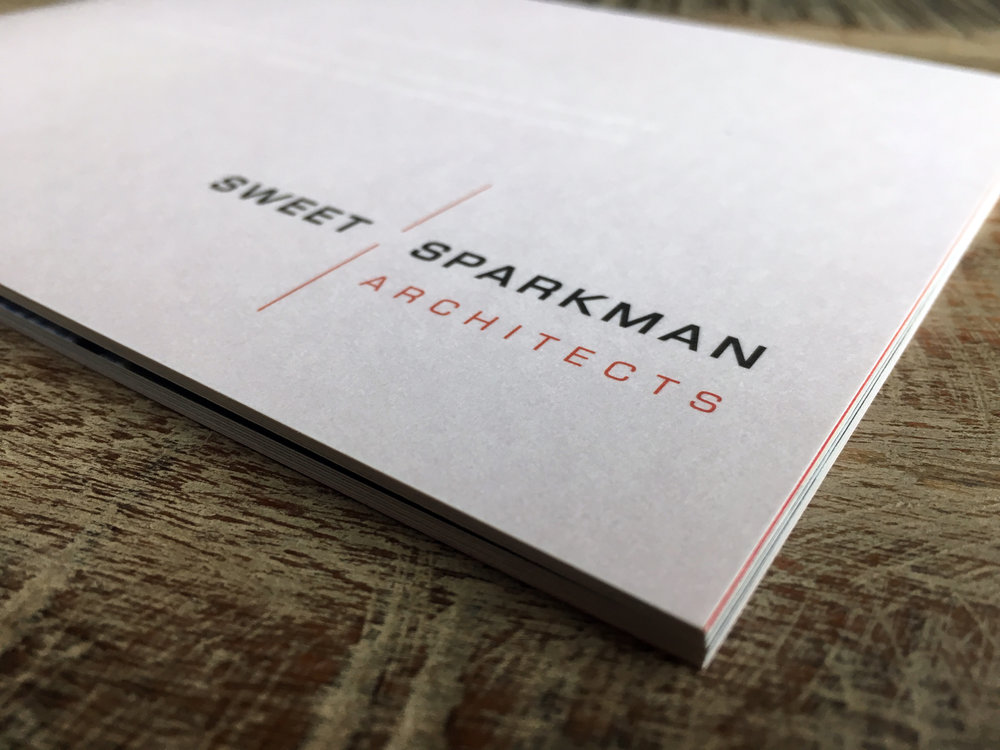 PROJECT: SWEET/SPARKMAN LOOKBOOK CLIENT: SWEET/SPARKMAN ARCHITECTS ROLE: DESIGNER, ART DIRECTOR