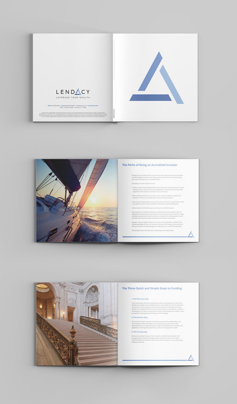 PROJECT: LENDACY LOOKBOOK CLIENT: LENDACY ROLE: DESIGNER, ART DIRECTOR